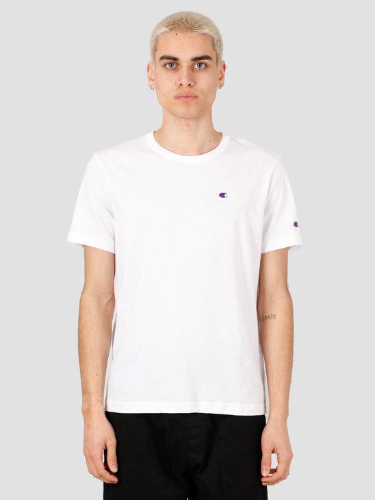 Champion Crewneck T-Shirt White WHT 214674-WW001