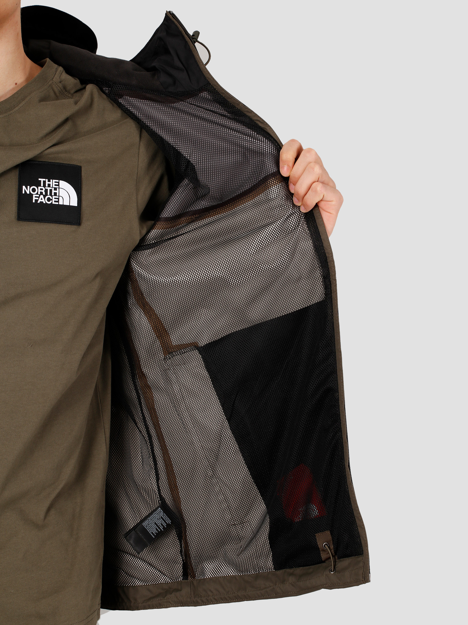 The North Face The North Face Mountain Q Jacket New Taupe Green TNF Black NF00CR3QBQW1