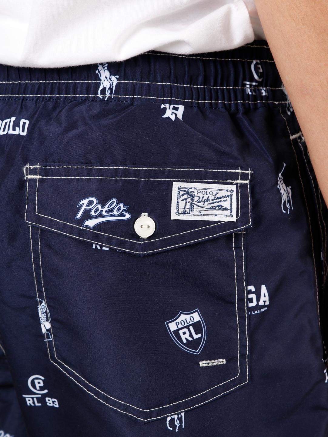 Polo Ralph Lauren Polo Ralph Lauren Traveler Short Polo Icons 710787074001