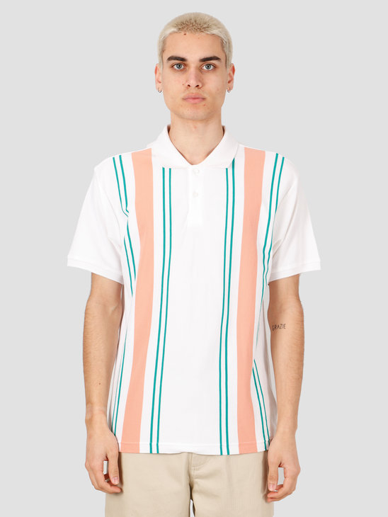 Obey Maps Polo Knits White Multi 131090055-WTM