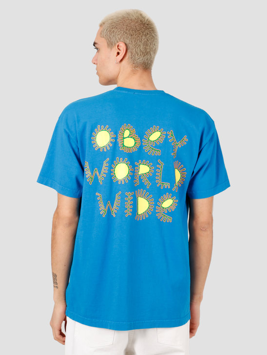 Obey Come Together T-Shirt Spirit Blue 166912182-SPB