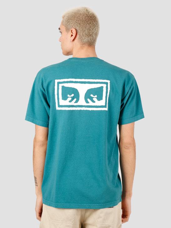 Obey Obey Eyes 3 T-Shirt Eucalyptus 166911826-EUC