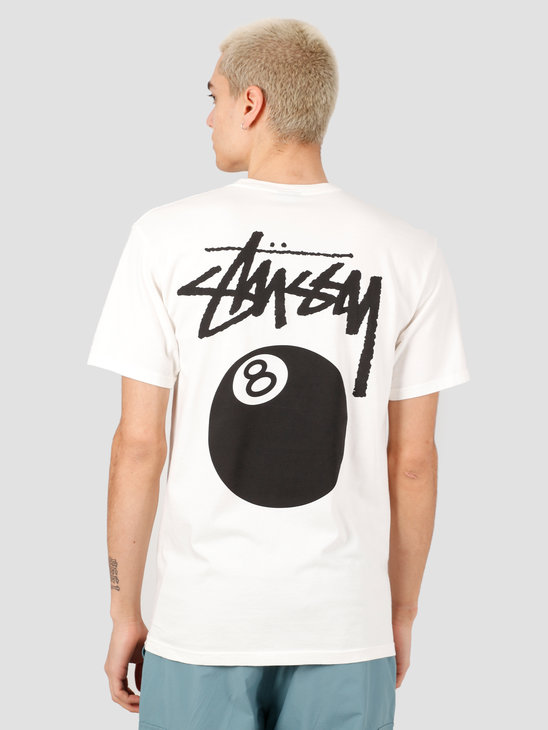 Stussy 8 Ball Pig. Dyed Tee Natural 1904519