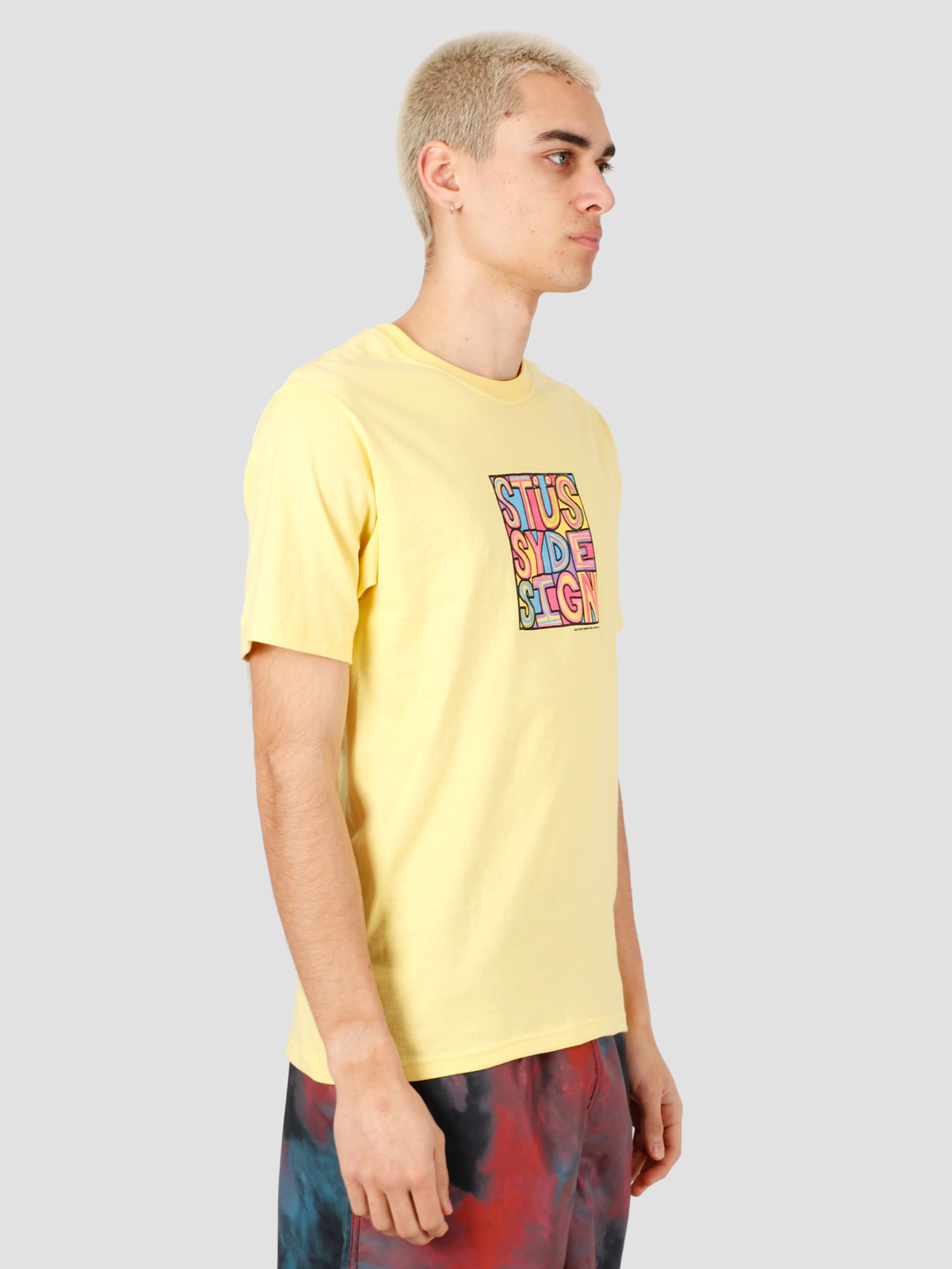 Stussy Stussy Clyde Tee Yellow 1904503