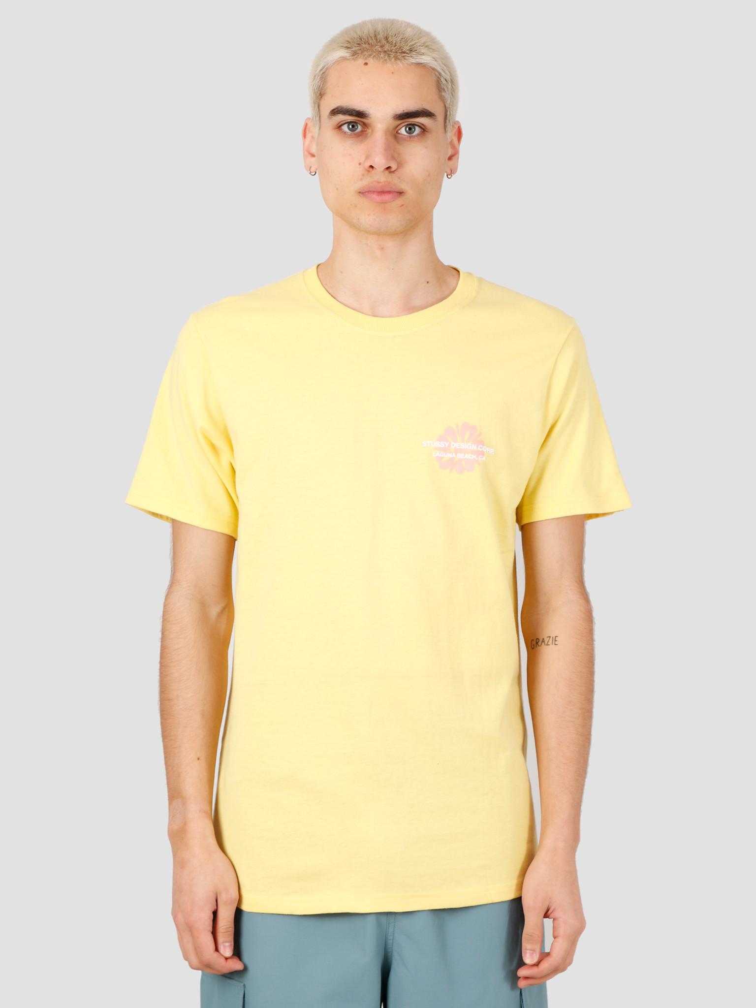 Stussy Stussy Laguna Flower Tee Yellow 1904508