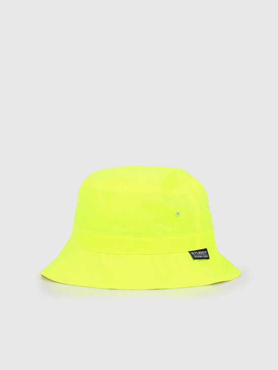 Stussy Reflective Bucket Hat Neon Yellow 132969