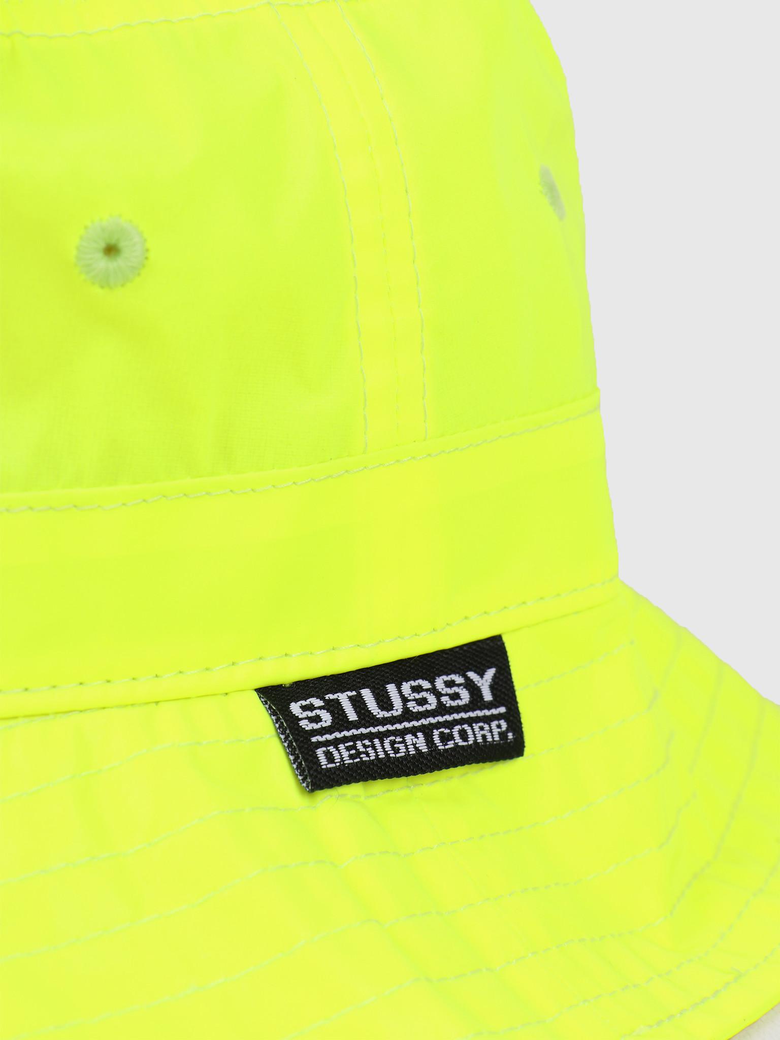 Stussy Stussy Reflective Bucket Hat Neon Yellow 132969