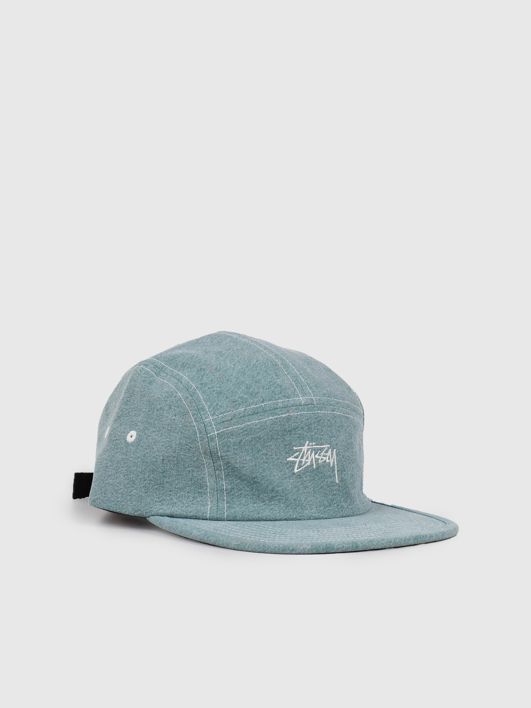 Stussy Stussy Stock Washed Canvas Camp Cap Green 132972