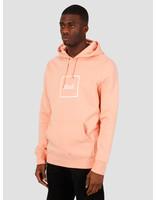 HUF HUF Box Logo Pullover Hoodie Coral Pink PF00098