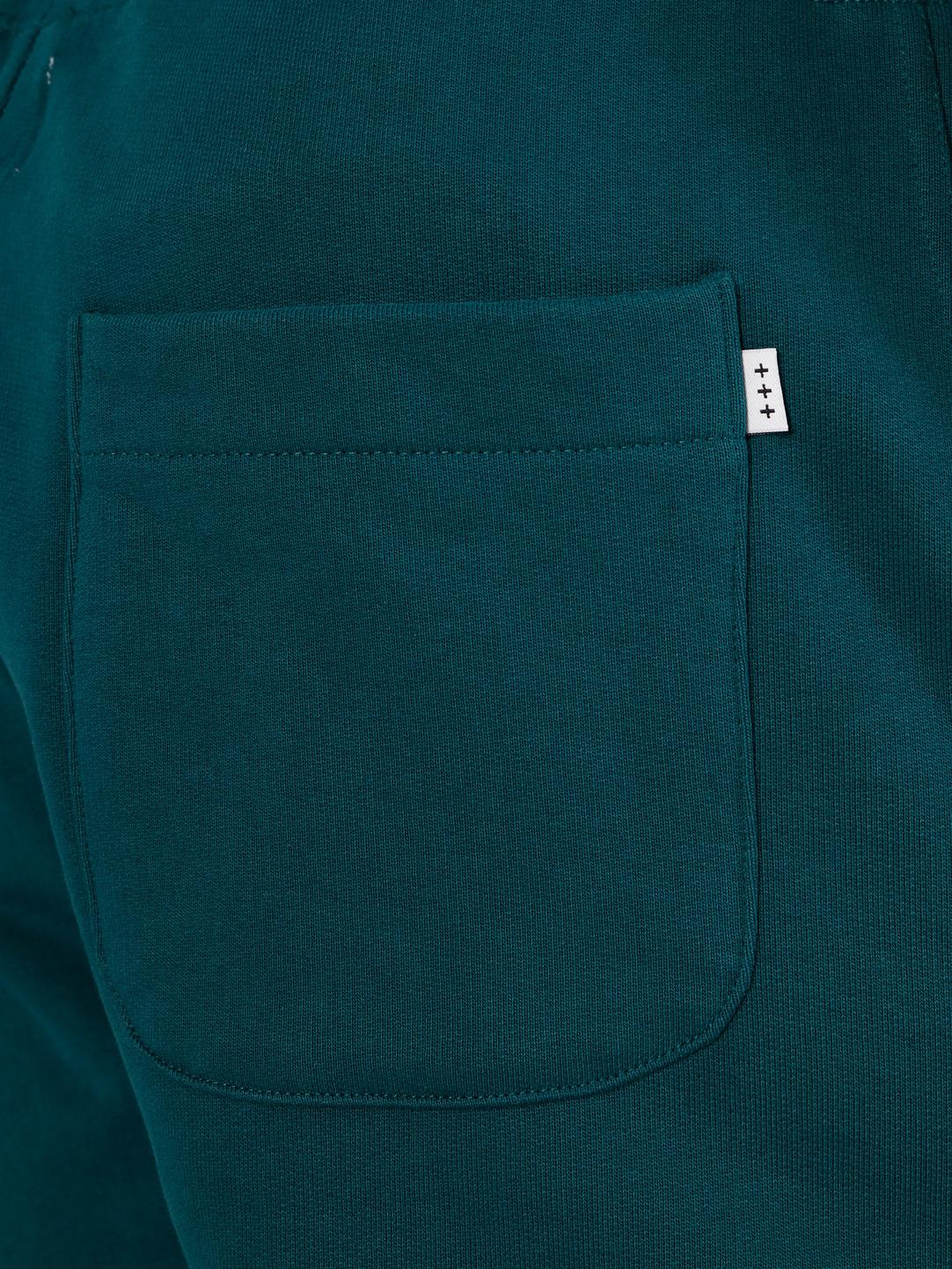 Quality Blanks Quality Blanks QB30 Sweat Short Dark Teal