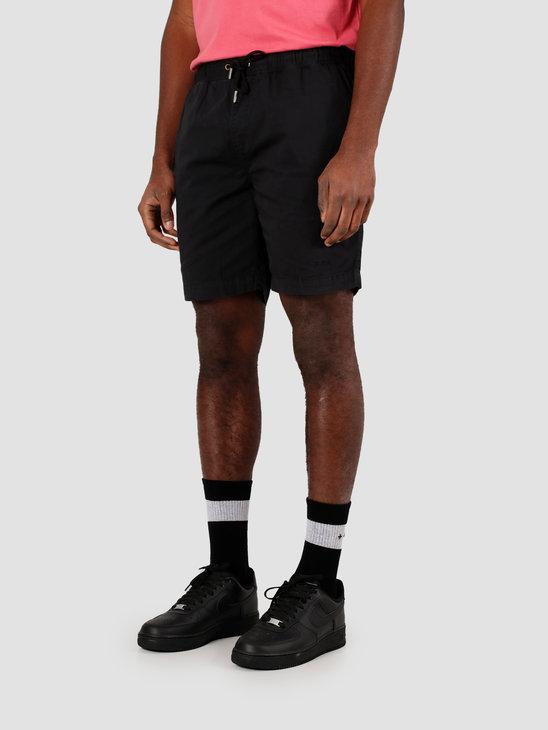 Quality Blanks QB31 Woven Short Black