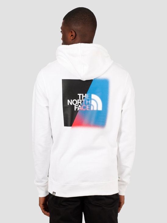 The North Face Graphic Hoodie TNF White TNF Black NF0A492ALA91