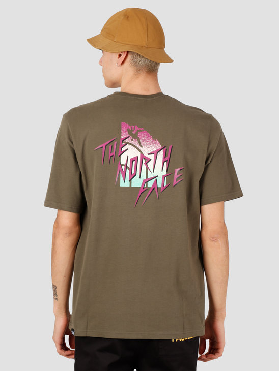 The North Face Masters Of Stone Tee New Taupe Green NF0A492I21L1