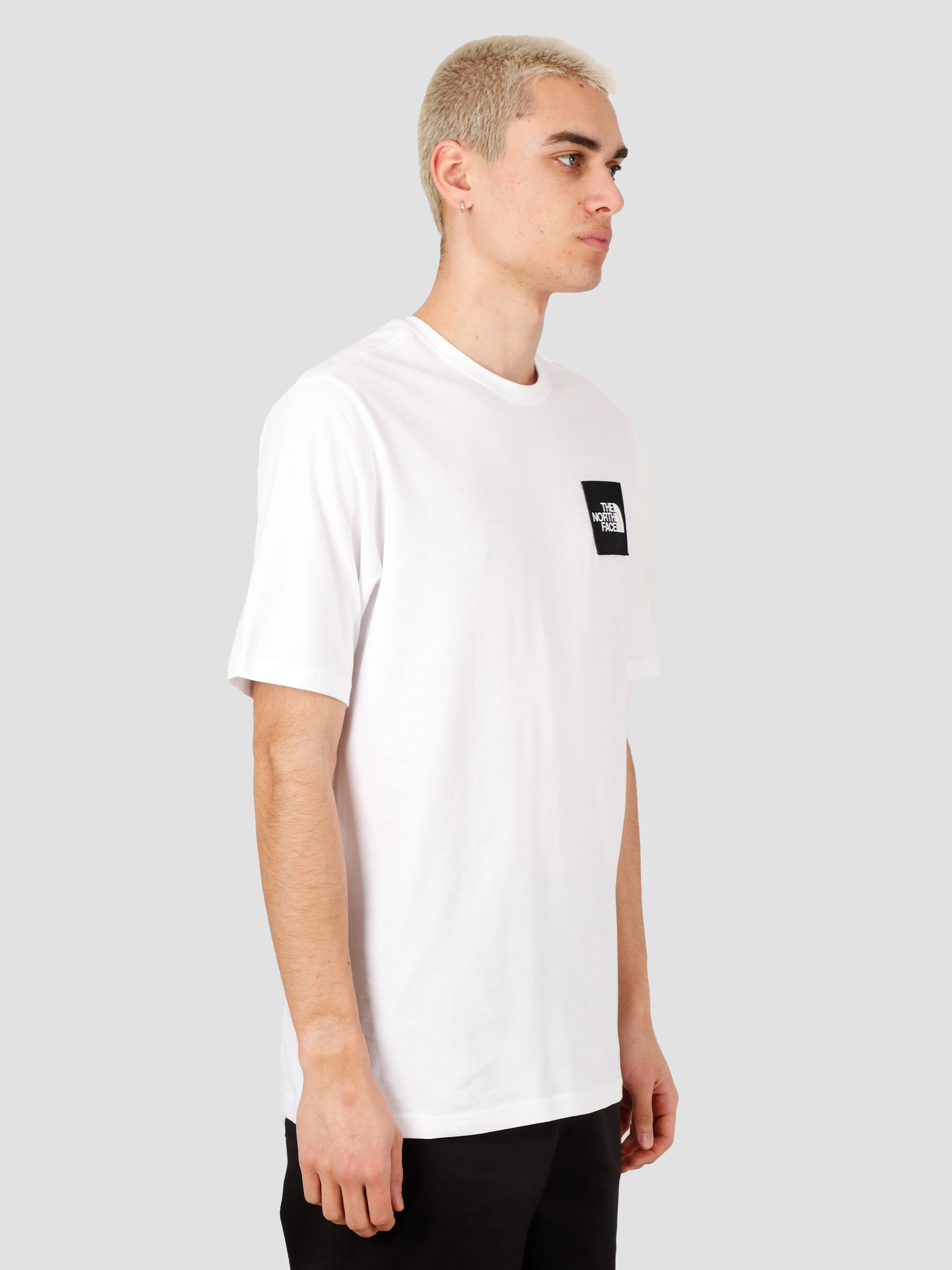 The North Face The North Face Masters Of Stone Tee TNF White NF0A492IFN41