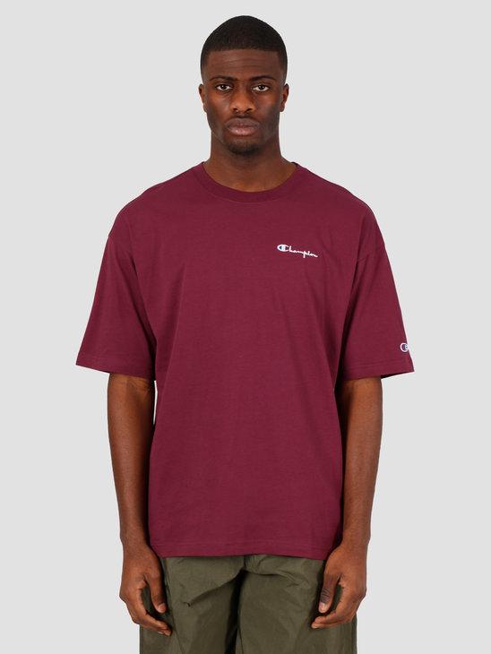 Champion Crewneck T-Shirt Red WRE 214282-VS506