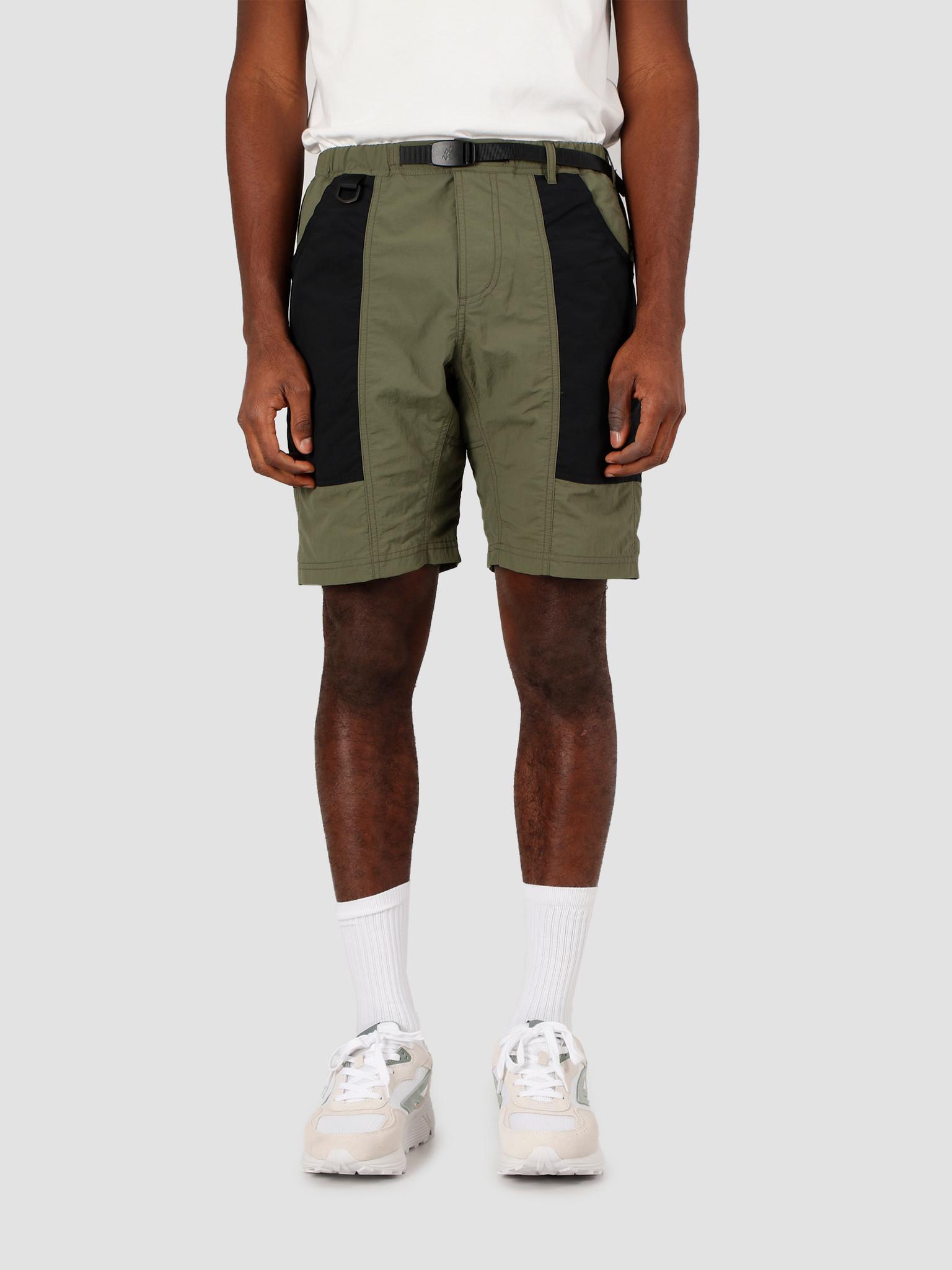 Gramicci Gramicci Shell Gear Shorts Olive Black GUP-20S038