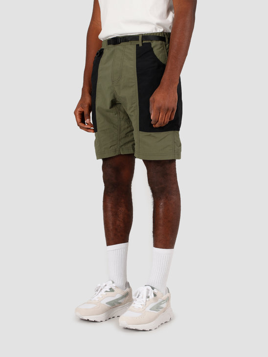 Gramicci Shell Gear Shorts Olive Black GUP-20S038
