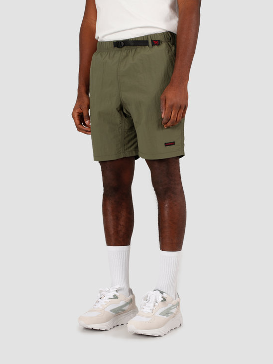Gramicci Shell Packable Shorts Olive GUP-20S037