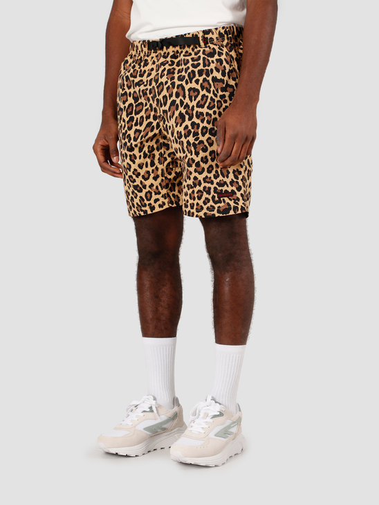 Gramicci Shell Packable Shorts Leopard GUP-20S037