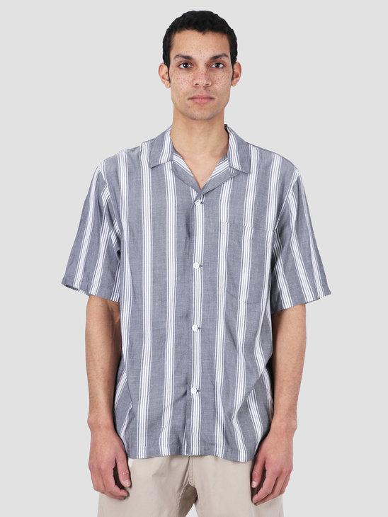 Carhartt WIP Chester Short Sleeve Shirt Chester Stripe Black I027507-8990