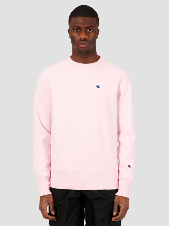 Champion Crewneck Sweatshirt Pink BAP 214676-PS104