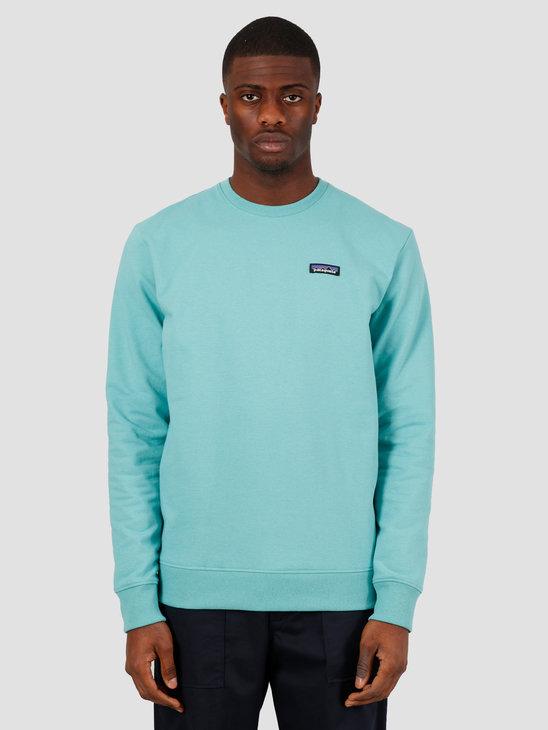 Patagonia M's P-6 Label Uprisal Crew Sweatshirt Light Beryl Green 39543