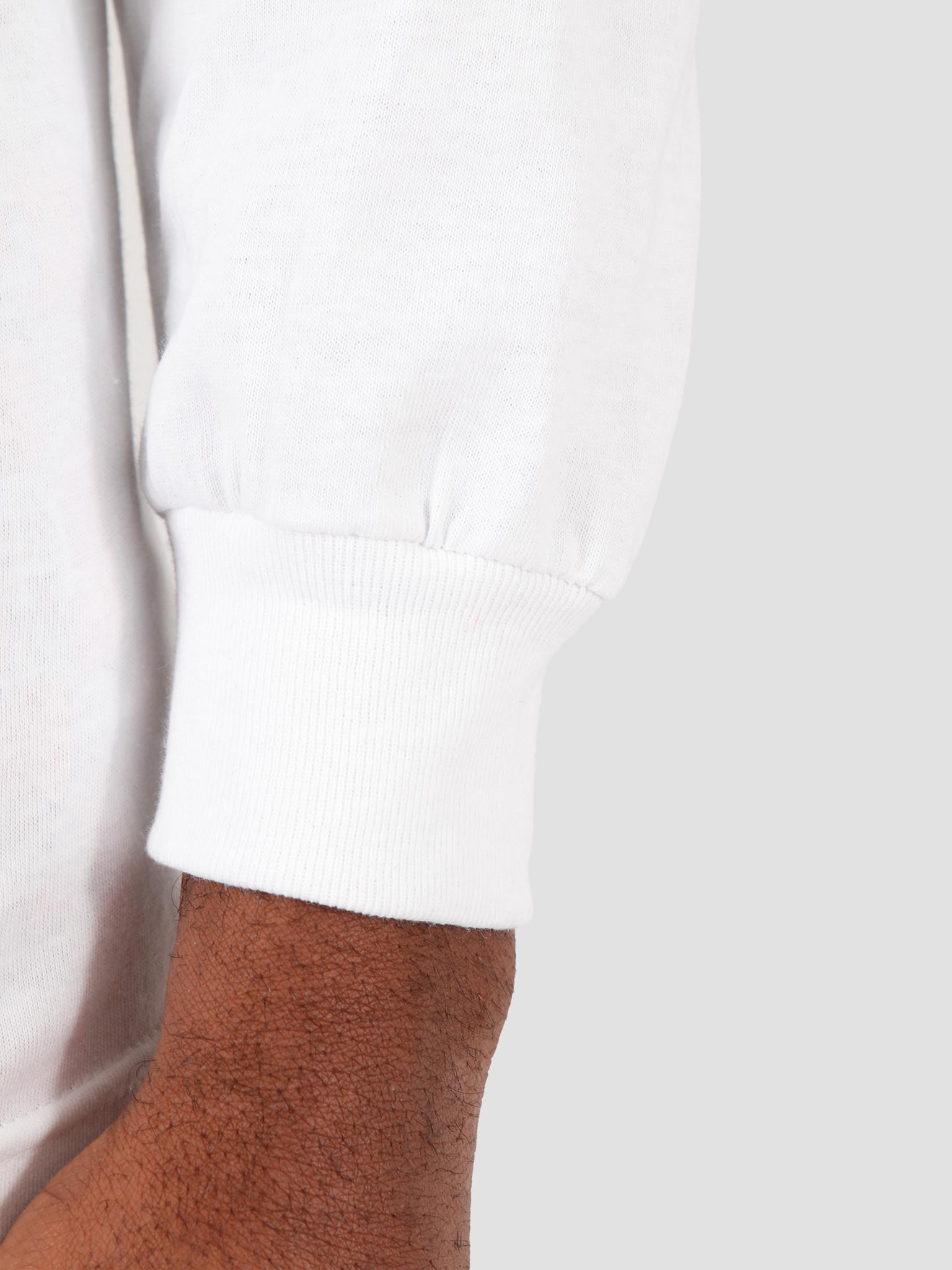 HUF HUF Forbidden Domain Longsleeve  White TS01005
