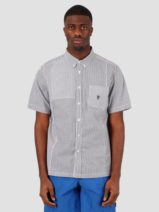 HUF Disorder Shortsleeve Woven Shirt Black BU00067