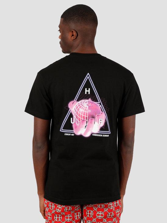 HUF Forbidden Domain T-Shirt Black TS01051