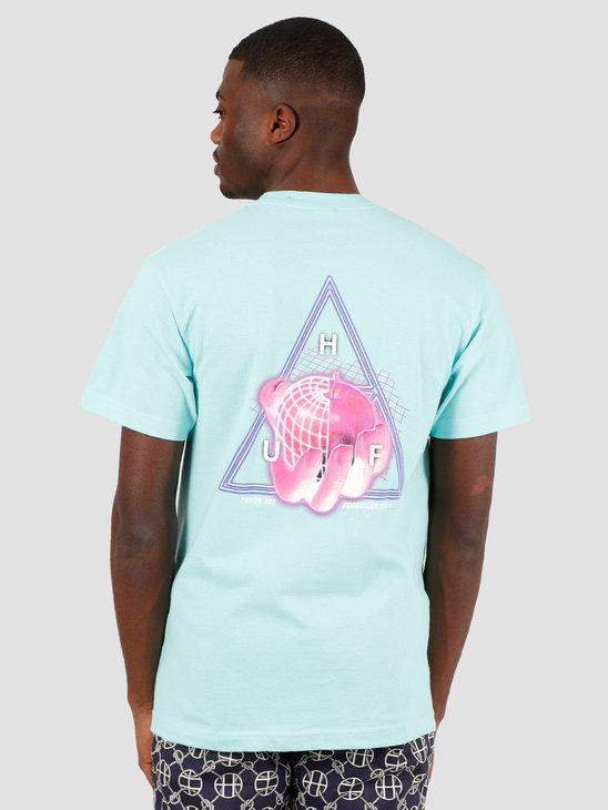 HUF Forbidden Domain T-Shirt Mint TS01051
