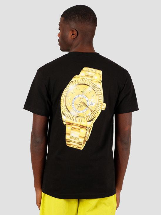 HUF Hufex T-Shirt Black TS01022