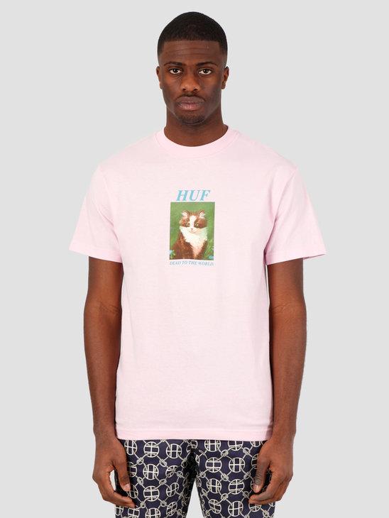 HUF Lost T-Shirt Coral Pink TS01018