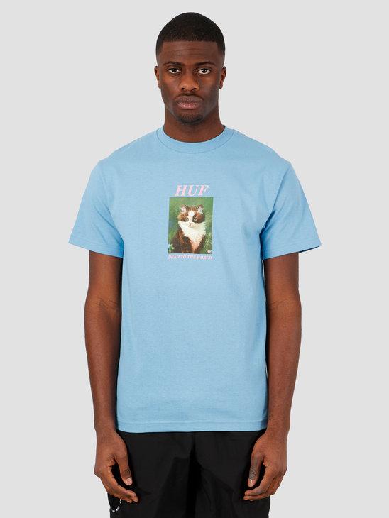 HUF Lost T-Shirt Greek Blu TS01018