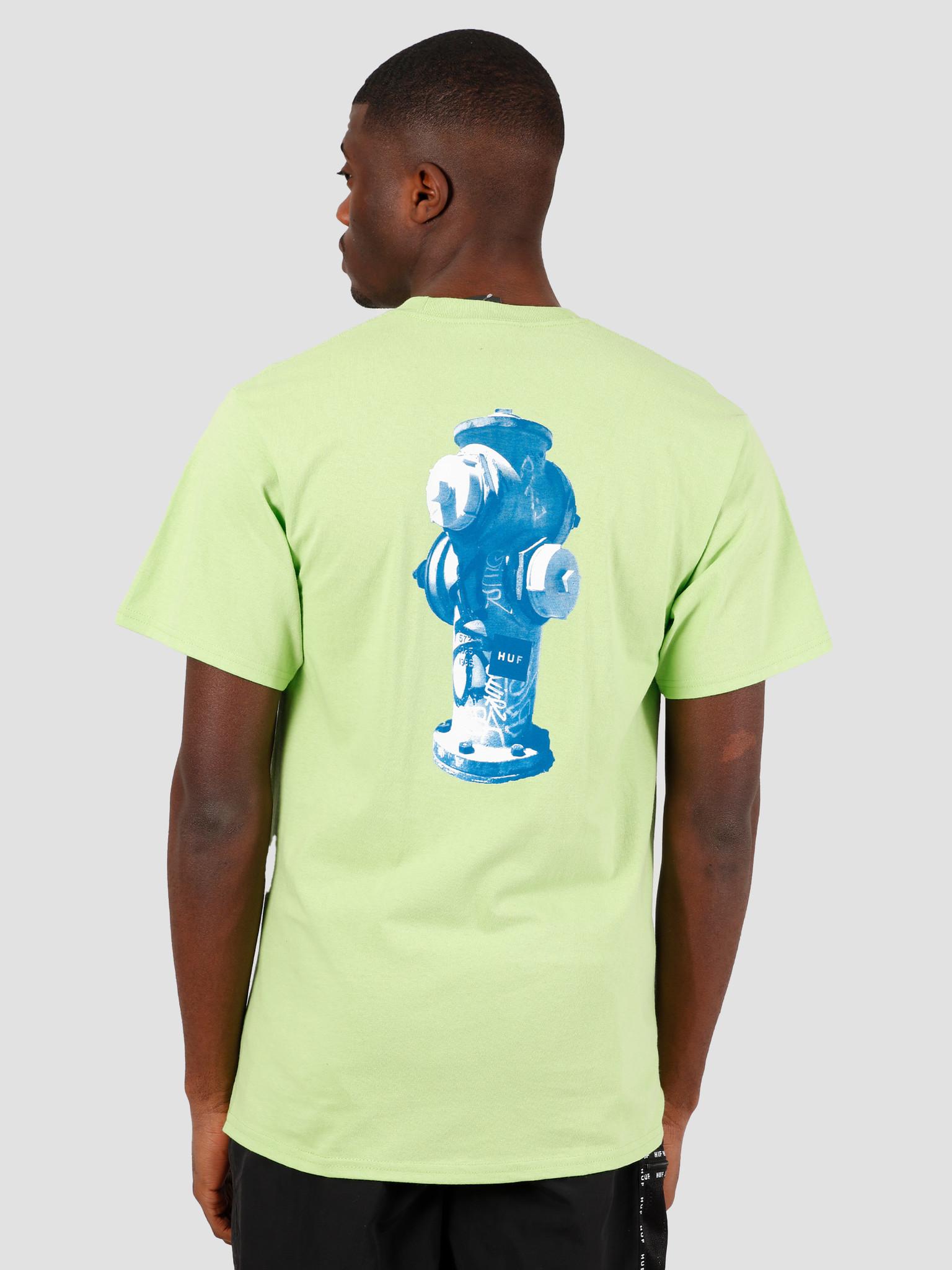 HUF HUF Ollie T-Shirt Hot Lime TS01019