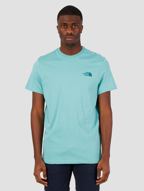 The North Face Short Sleeve Simple Dome Tee Lagoon NF0A2TX5BDF1
