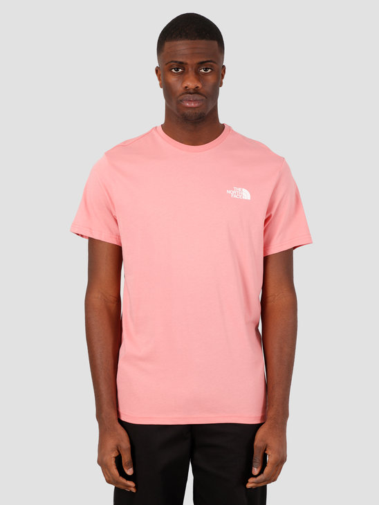 The North Face Short Sleeve Simple Dome Tee Mauveglow NF0A2TX5HK41