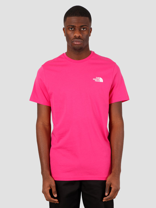 The North Face Short Sleeve Simple Dome Tee Mr. Pink NF0A2TX5WUG1