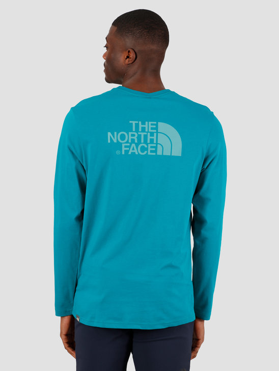 The North Face Longsleeve Easy Tee Fanfare Green NF0A2TX1H1H1