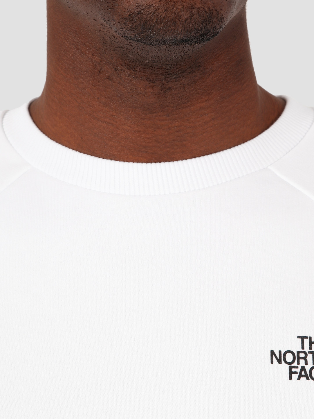 The North Face The North Face Raglan Redbox Crewneck TNF White Flame Orange NF0A3RZ2P9V1