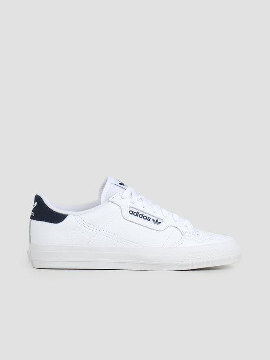 adidas Continental Vulc Footwear White Footwear White Collegiate Navy EG4588