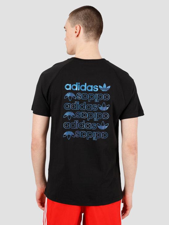 adidas Zeno T-Shirt Black FS7329