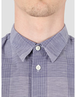 Norse Projects Norse Projects Hans Cotton Linen Check Shirt Twilight Blue N40-0522-7169