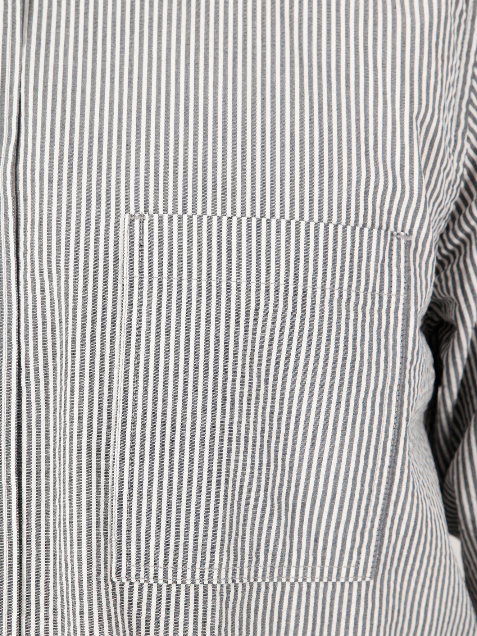 Norse Projects Norse Projects Thorsten Seersucker Shirt Navy Stripe N40-0516-7125