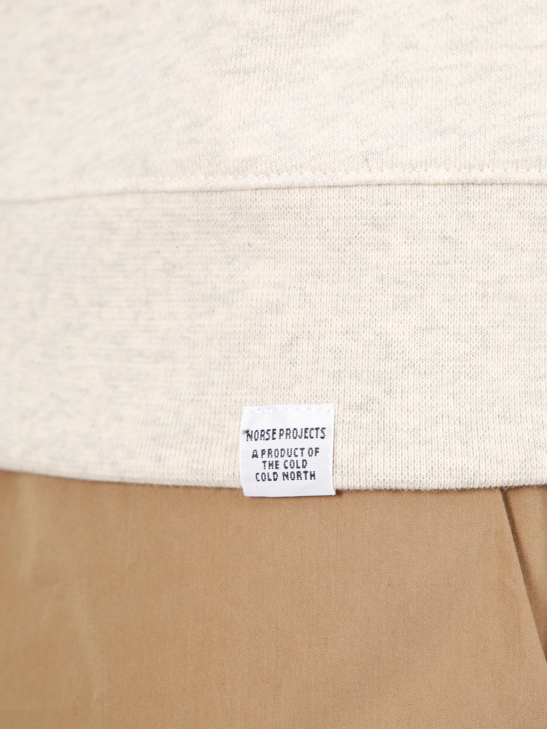 Norse Projects Norse Projects Vagn Classic Crewneck  Oatmeal Melange  N20-0261-2003
