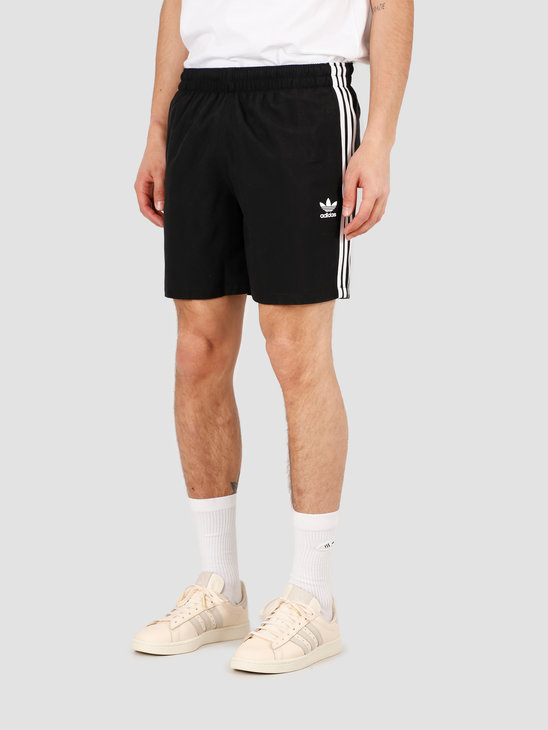 adidas 3 Stripe Swimshort Black FM9874