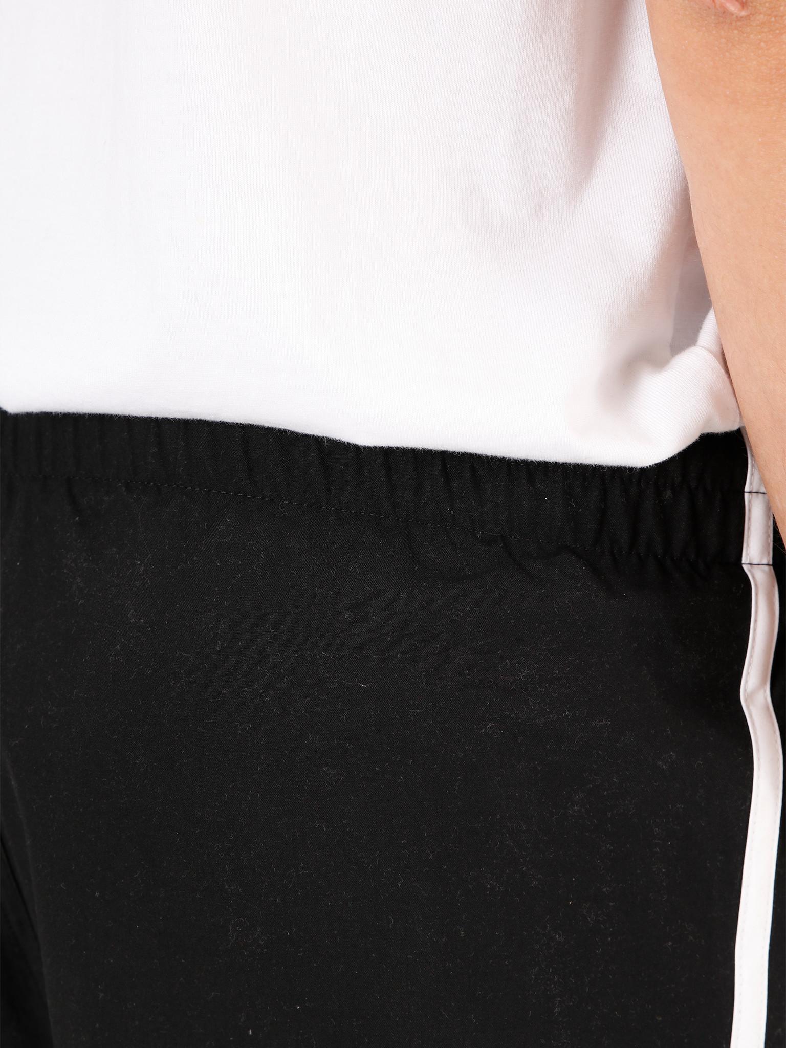 adidas adidas 3 Stripe Swimshort Black FM9874