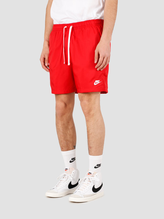 Nike NSW Ce Short Woven Flow University Red White AR2382-657