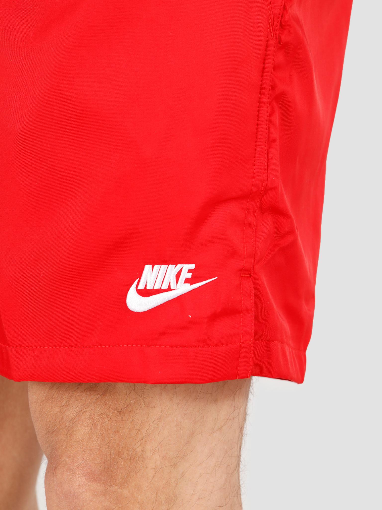 Nike Nike NSW Ce Short Woven Flow University Red White AR2382-657
