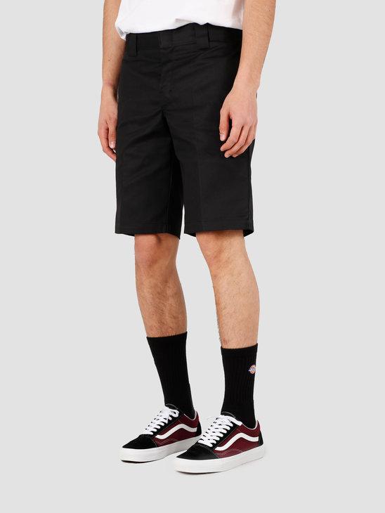 Dickies Slim Stgt Wkshort Short Black WE42 273-BK
