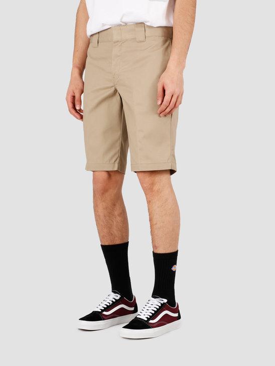 Dickies Slim Stgt Wkshort Short Khaki WE42 273-KH
